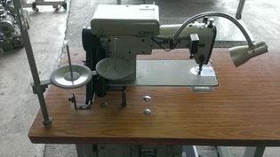 JUKI DDL-505本縫い自動糸切り工業用ミシン ミシン裏側