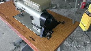 JUKI DDL-505本縫い自動糸切り工業用ミシン 糸巻き付近