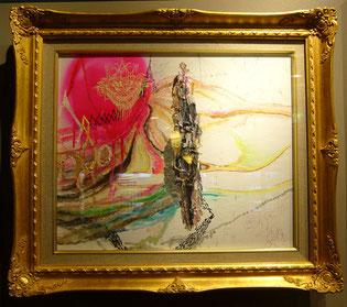 Diamond / mixted media on canvas 2008
