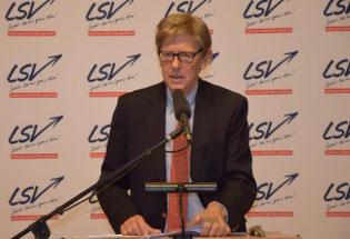 LSV-Präsident Hans-Jakob Tiessen