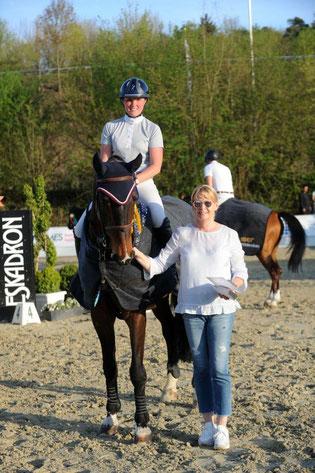 Foto: Leonie und Chapelita (Chacco-Blue x Aloube Z)