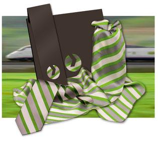 Vossloh Krawatten und Schals