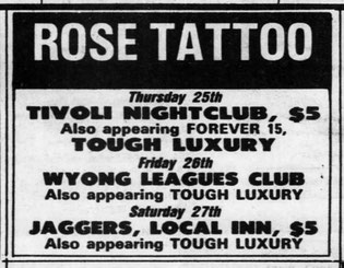 Tour AD -  Friday 26. April '85 - Sydney Morning Herald  - Page 38