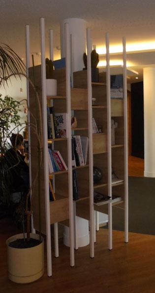meuble etageres sur mesure