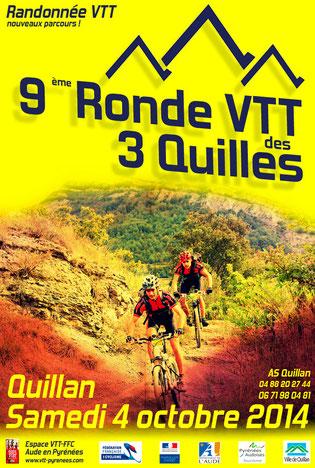 Ronde VTT des 3 Quilles 2014