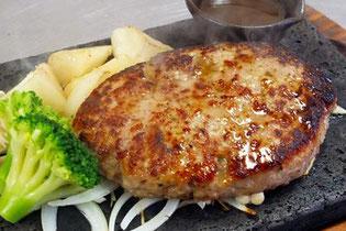 氷見牛レストラン あいやま 氷見牛石焼ハンバーグ