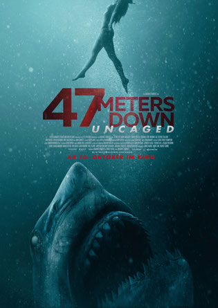 47 Meters Down Uncaged Hauptplakat
