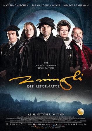 Zwingli Der Reformator Hauptplakat