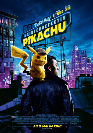 Meisterdetektiv Pikachu Plakat