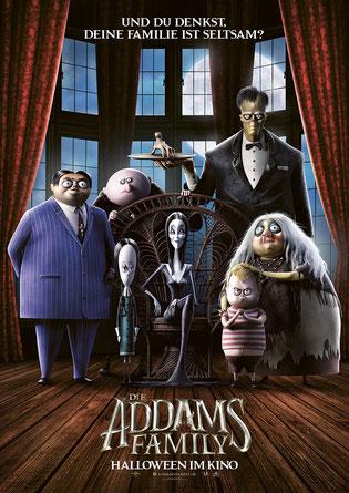 Die Addams Family Hauptplakat