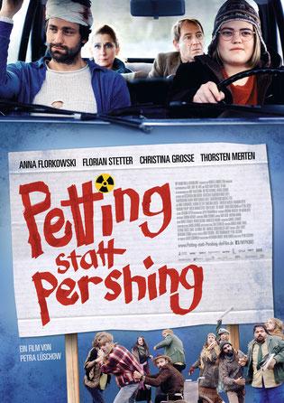 Petting statt Pershing Hauptplakat