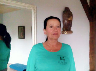 Ihre Therapeutin Gabriela Krebs