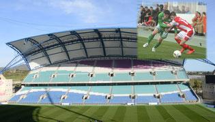 Nachmittagsprogramm: Fußballturnier im Estadio Algarve in Faro