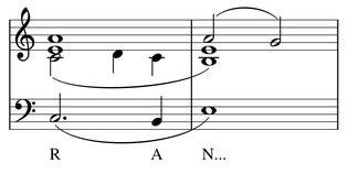 partition musique Harmonie Randolph Carter