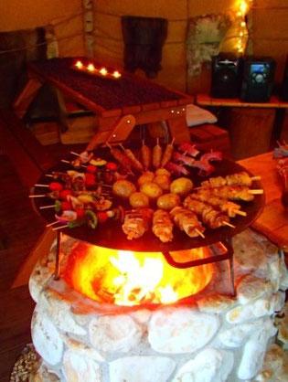 Leckeres Essen in der Muurikaa