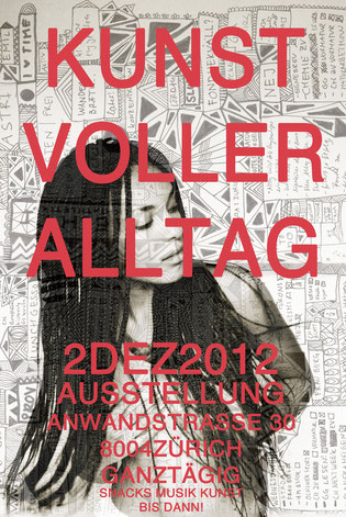 Kunstvoller Alltag, Yael Anders exhibition in Zurich