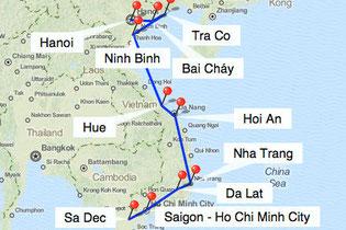 Bild: Rundreise durch Vietnam