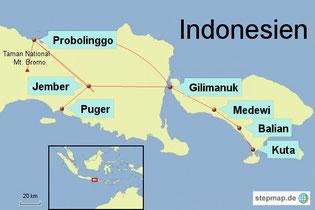 Bild: Rundreise durch Indonesien