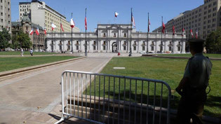 Bild: Amtssitz des chilenischen Präsidenten