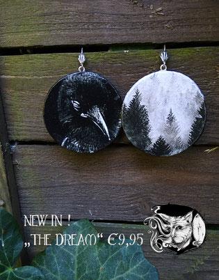 Catmansion - Extraordinary spooky jewellery - Ohrhänger The Dream - Zebraspider DIY Blog