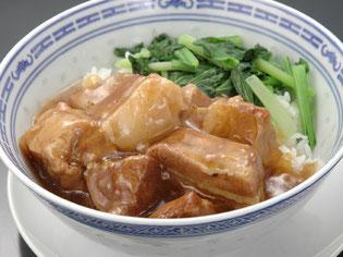 豚バラ肉かけ御飯