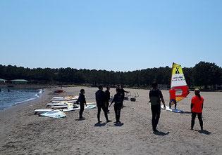 ウインドサーフィン 海の公園 speedwall スピードウォール 初心者 スクール 体験 横浜 神奈川