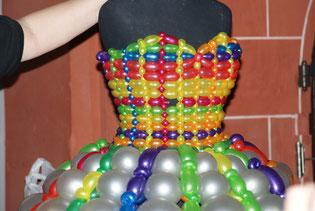 Ballonkunst, Ballonkleid, Mode, Frauen, Ballkleid, Mr.Balloni