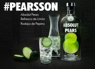 Absolut renueva su imagen con su nuevo cocktail Pearson