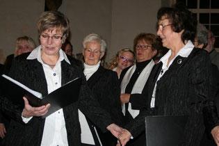 Dank an Ingrid und Theo Jacob für 45 Jahre Chor-