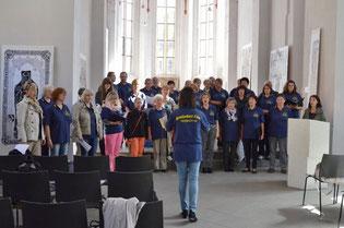 Auch in der Marienpfarrkirche ist der Klang ...