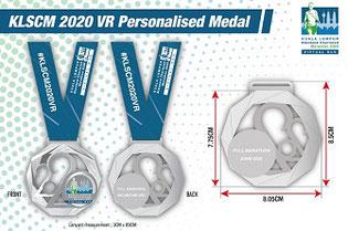 KLマラソン2020メダル