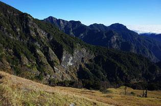 台湾雪山登山道