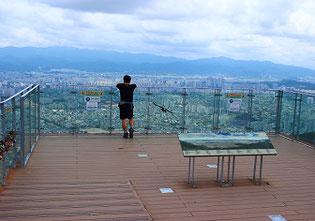 韓国大邱アプサン展望台