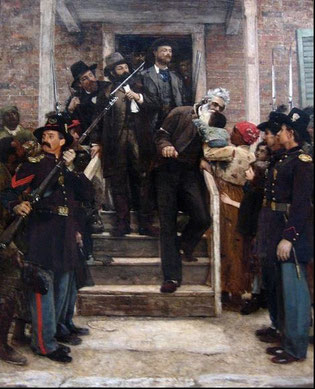 Thomas Hovenden, Les derniers moments de John Brown, c. 1882 / New York, Metropolitan museum