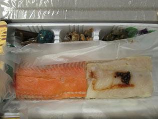 岩魚とギンヒカリ(養殖鱒)の合わせ技♪ギンヒカリもなかなかの味わい