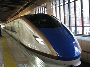 北陸新幹線「はくたか」に初乗車でした