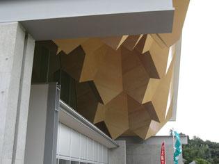 天井、軒天井も凝った造形