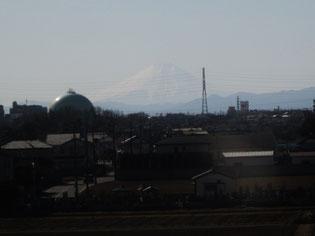 さいたま市大宮からは富士山が見えて…