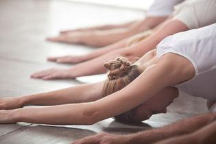 Yin Yoga - Stellung der Hingabe