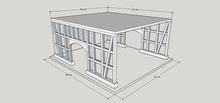 Vogelfutterhaus bauen