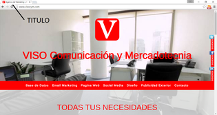 Titulo de sitio web