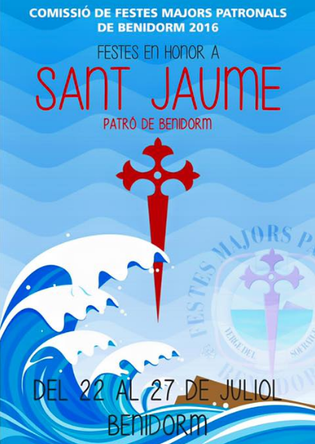 Fiestas de Sant Jaume en Benidorm