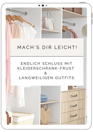 Leitfaden für Ordnung im Kleiderschrank und cleveres Outfit-Styling