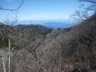 琵琶湖遠景(中峠手前)