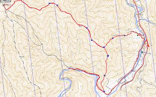 GPS軌跡(M内さん)