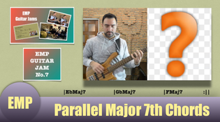 Parallel Major 7th Chords mini guitar lesson