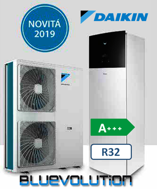 PDC DAIKIN Integrated idrosplit R32 H/C