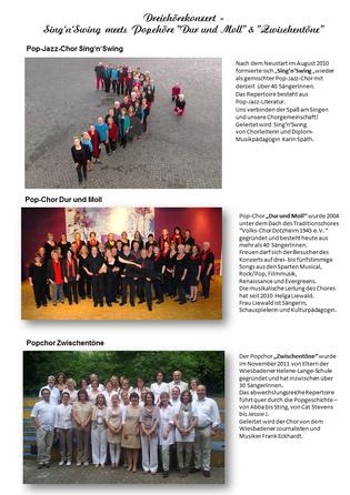 Dreichörekonzert 2014