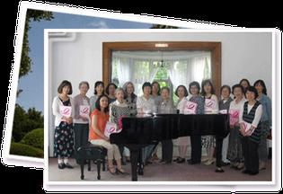 乳がん患者会 あけぼの神奈川 イギリス館でのコーラスコンサート