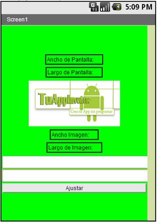 Adaptar App a pantallas